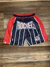 Houston Rockets Summer City Basketball Shorts Stitched Team Style M-XL - New