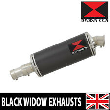 BMW R 1150 R ROCKSTER R1150R OVAL CARBON FIBRE END CAN EXHAUST SILENCER 300CS