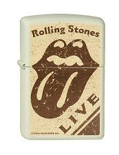 Zippo Rolling Stones LIVE Vanille  Farben 2001529 Neu Feuerzeug RAR
