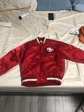 vintage san francisco 49ers starter jacket