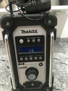 Makita DMR104 radio.