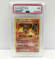 PSA 9 Charizard Holo Rare Foil 11/108  Pokemon XY Evolutions Card