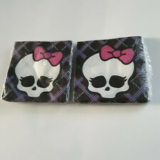 Monster High Napkins Girls Birthday Decoration Favor Party Supplies 16 Lot of 2