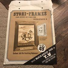 Vtg Stori-Frames Story Of Pom Pom Vol 4 Book 1967 Buckaroo 500 Tv Horse Frame