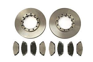 Fits Mitsubishi FUSO P10 7.5T 7C15/7C18(10->) Rear Brake Disc & Brake Pad Kit