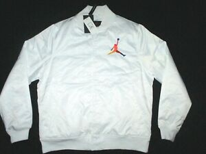 Nike Air Jordan DNA Satin Jacket AV0112-100 Size L