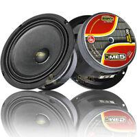 """Audio Legion 5"""" Midrange Speakers 100 Watts Max Power 8 Ohm Car Audio ME5 Pair"""