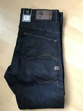 Brand New G Star Raw C Type Superslim Jeans in Dark Indigo, Waist 34/Length 32