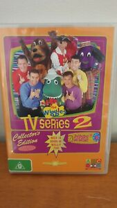 The Wiggles TV Series 2  Collector's Edition   *RARE*  4 discs