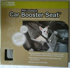 OUTWARD HOUND PET LOOKOUT CAR BOOSTER SEAT Small Size Dogs Under 20 Lbs