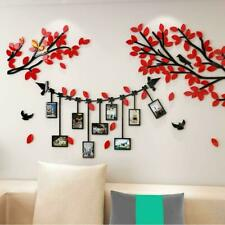 3D Picture Frames Tree Wall Murals Living Room Bedroom Wall Decor Decal Stickers