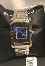 Kenneth Cole New York 30x35mm Men's Shocking Blue Numeral Watch 10031343 NEW