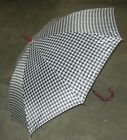 Auto Opening Houndstooth Umbrella