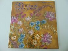 Silk Ribbon Embroidery Book by  Cable, Sheena