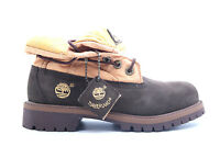 [ROLL TOP PS-22752] TIMBERLAND ROLL TOP PRE-SCHOOL BOOTS TIMBERLANDBROWNM