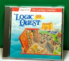 Logic Quest 3D (Windows) (Jewel Case)
