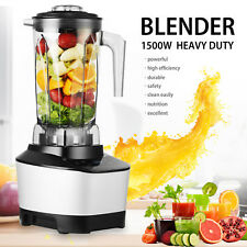 2L 1500W Commercial High Speed Blender Juicer Food Smooth Ice Cream Mixer