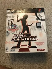 Dance Dance Revolution SuperNova Bundle Sony PlayStation 2, Game & Controller