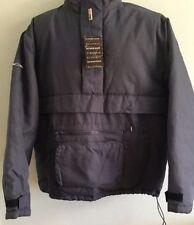 Hip Length Nylon Hooded Pull Over Coats & Jackets for Men