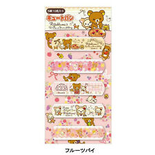 Rilakkuma Japan First Aid Bandage - Pie with Fruits - 5 Designs 10 Pieces