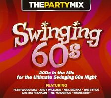 THE PARTY MIX ~ SWINGING 60's / SIXTIES NEW SEALED 3 CD SET GREATEST HITS MIX