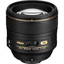 Nikon Nikkor Af-s 85mm F/1.8 G Lens