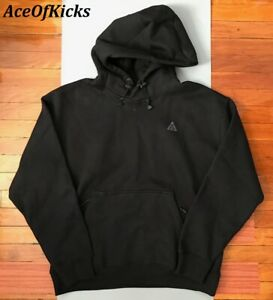 Nike ACG Heavyweight Pullover Fleece Hoodie Black SZ M Men CW4490-010