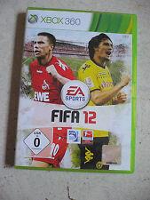 FIFA 12 (Microsoft Xbox 360, 2011, DVD-Box) EA Sports Fußballsspiel Simulation