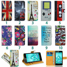 HTC Mobile Phone Leather Wallet Kickstand Bag Case Cover Coque