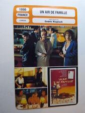 FICHE CINEMA ,UN AIR DE FAMILLE,CEDRIC KLAPISCH, 1996, J.P. bacri,J.P.darroussin