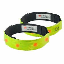 High Vis Reflective LED Running Cycling Walking Safety Armband Strap