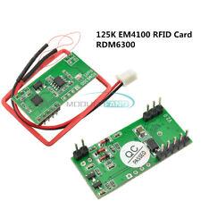 125K Lector De Tarjeta De Rfid EM4100 módulo RDM6300 Id Rf UART salida para Arduino