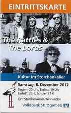 Konzert Ticket - The Lords, The Rattles -  Winnenden 2012 -Top Zustand