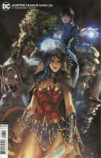 JUSTICE LEAGUE DARK #26 COVER B KAEL NGU CARD STOCK VARIANT VF/NM 2020 DC HOHC
