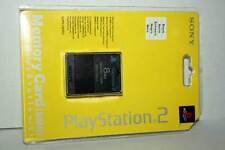 MEMORY CARD PS2 - NUOVA COLORE NERO RICAMBIO ORIGINALE SONY GQ1 42976