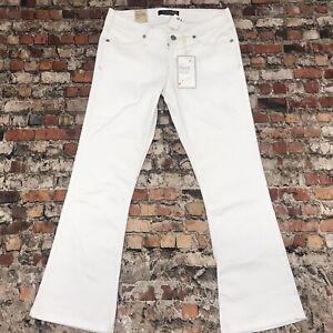 NEW Levi's Jeans Girls/ Women's size 7 White Denim flare stretch Jeans