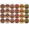 Crazy Cups Chocolate Lovers Flavored Coffee Single Serve Variety Pack 24 Count