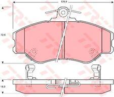 Bremsbelagsatz Scheibenbremse TRW GDB3089 vorne für HYUNDAI H100 Bus PORTER 2.4