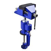 Präzisions Mini Schraubstock 70mm drehbar 360° schwenkbar 45°, Tischschraubstock