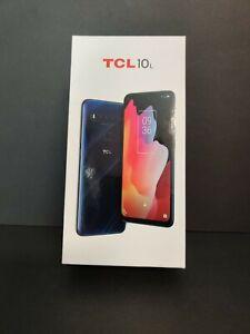 TCL 10L T770B - 64 GB - Marina Blue (Unlocked) Smartphone