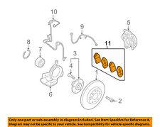 KIA OEM 07-09 Rondo Brake-Front Pads 581011DA00