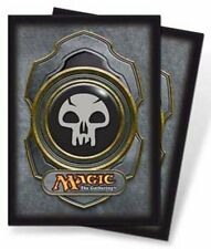80 Ultra Pro Magic Gathering MTG BLACK Mana Symbol V3 CARD PROTECTORS SLEEVES
