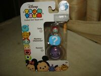 DISNEY TSUM TSUM 3 PACK: SERIES 5:  SALLY, RANDALL & MYSTERY FIG. AGES 6+: NEW