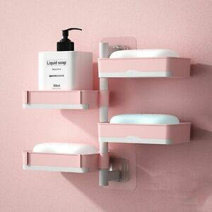 Punch-free Bathroom Accessories Strong Soap Dish Drain Box Soap Box Soap Holder