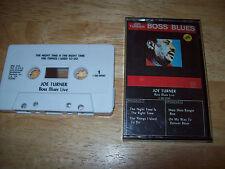 Joe Turner EXCELLENT Boss Blues Live CASSETTE TAPE C-Q5-5030 Quicksilver Records