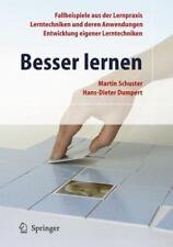 Besser Lernen by Martin Schuster and Hans-Dieter Dumpert (2007, Paperback)