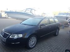 Volkswagon Passat DSG Diesel Estate 170ps auto black Highline leather 2009