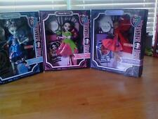 Monster High 3Lot set Scary Tales Snow Bite~Threadarella~Little Dead Riding Wolf
