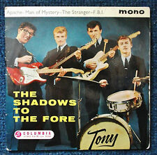 The Shadows.'To The Fore' 7 inch vinyl EP.(1st Pressing) Mono