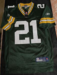Reebok Charles Woodson Green Bay Packers Sz S Football Nfl On Field Vtg Jersey